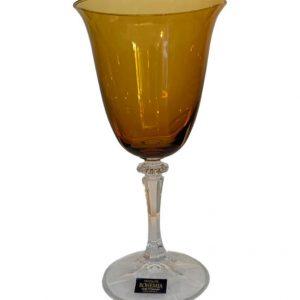 Taça para vinho âmbar C/6 3 - Divino Espaço