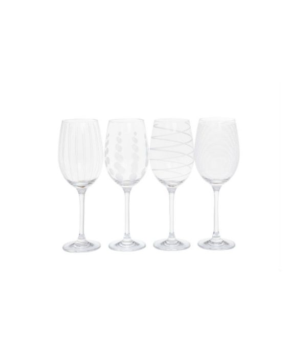 Jogo de taça para vinho mikasa cheers - 4 peças 1 - Divino Espaço
