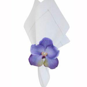Porta guardanapo orquídea 06 peças 2 - Divino Espaço