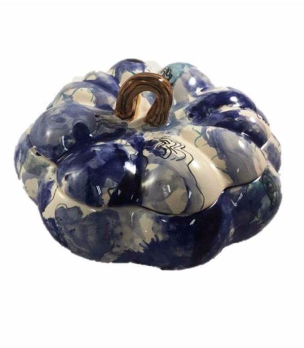 Sopeira de cerâmica modelo abóbora 1 - Divino Espaço