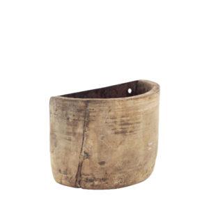 Mini floreira de madeira envelhecida 2 - Divino Espaço