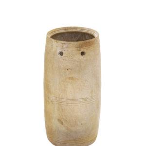 Vaso de madeira envelhecida 2 - Divino Espaço