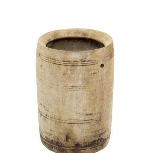 Vaso de madeira envelhecida 3 - Divino Espaço
