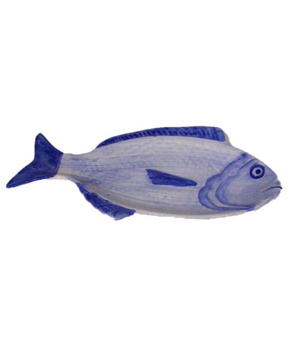 Petisqueira de cerâmica peixe G 1 - Divino Espaço