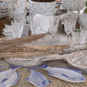 Petisqueira de cerâmica peixe 3 - Divino Espaço