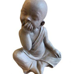 """Escultura Budas """"não vejo , não escuto e não falo"""" 03 pçs 2 - Divino Espaço"""